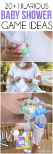 20 Hilarious Baby Shower Games that Everyone Will Love 20 hilarious baby shower games that are also perfect for a 2nd time mom baby  sprinkle