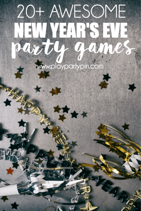 Free Printable 2015 New Years Eve Party Games