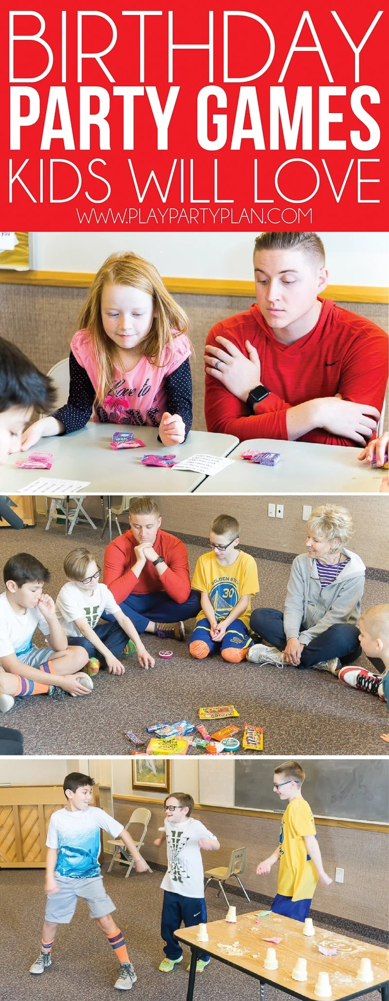 Hilarious Birthday Party Games For Kids  Adults - Play Party Plan-5191