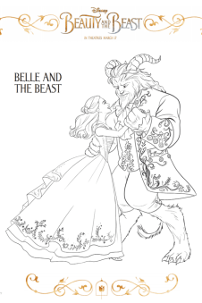 Free Printable 2017 Beauty And The Beast Games Coloring Pages