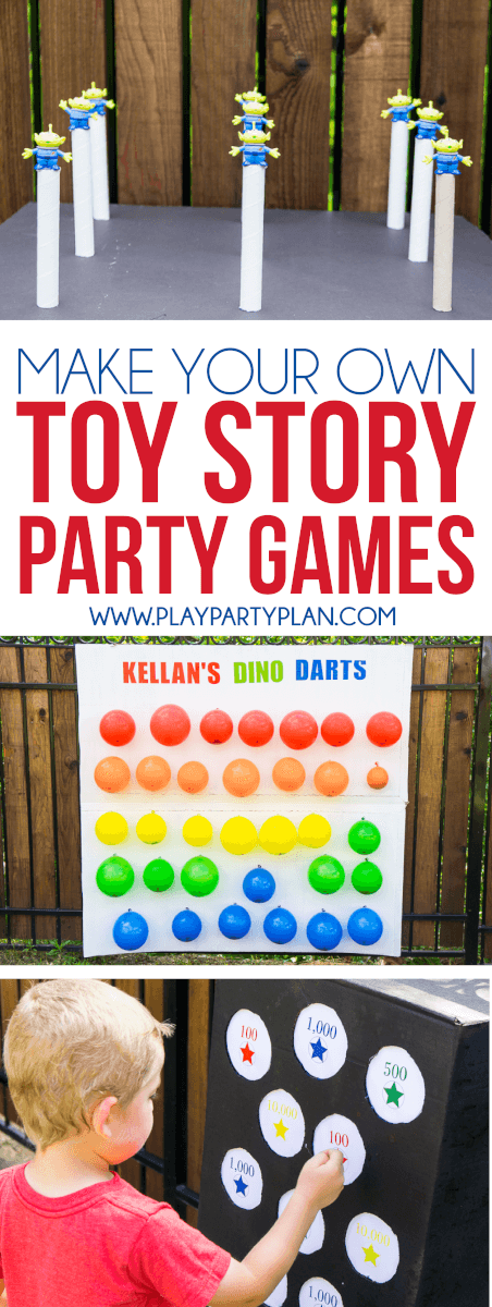 Fun & Easy Toy Story Midway Mania Games You Can Make At Home