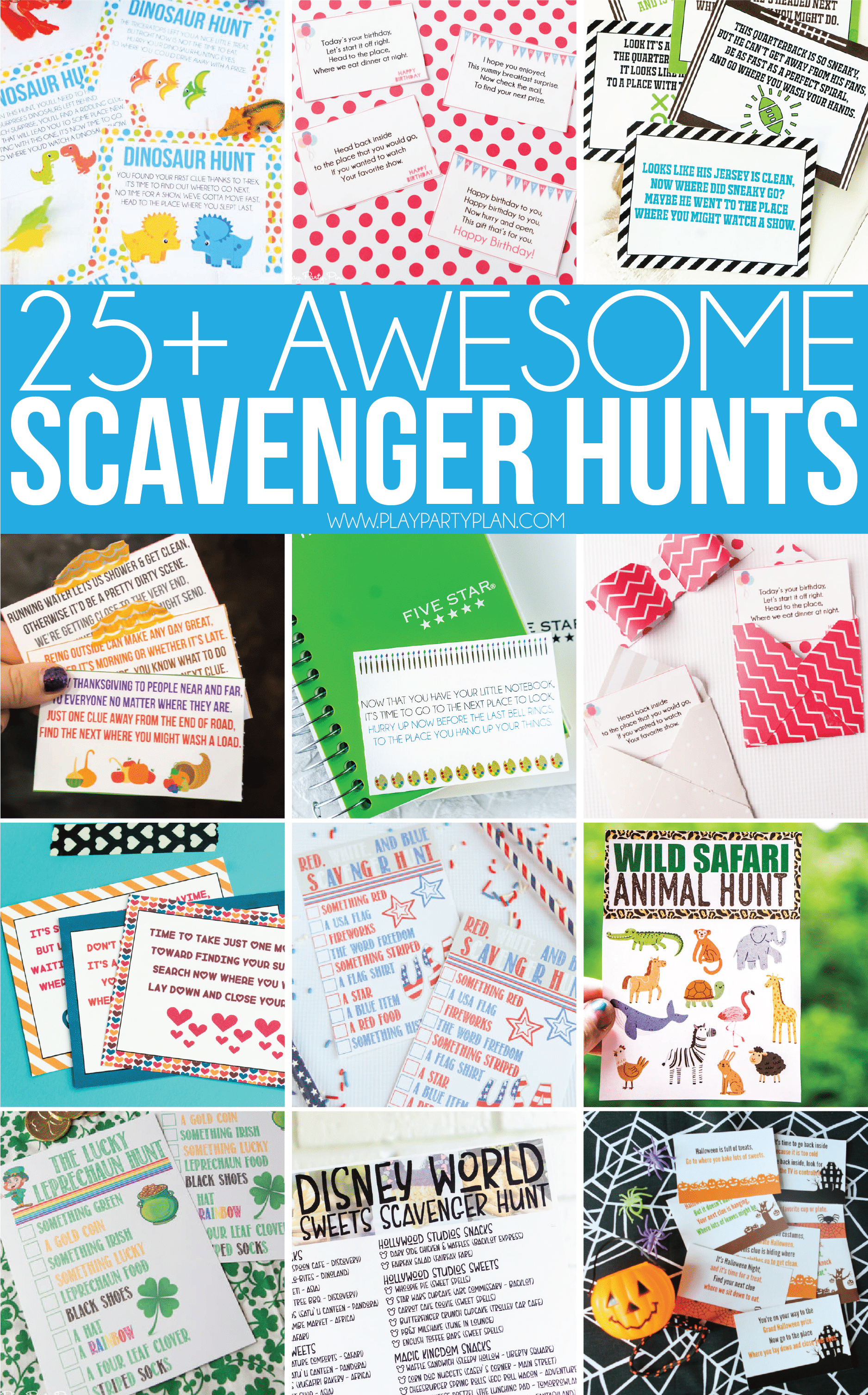Awesome Scavenger Hunt Ideas For All Ages