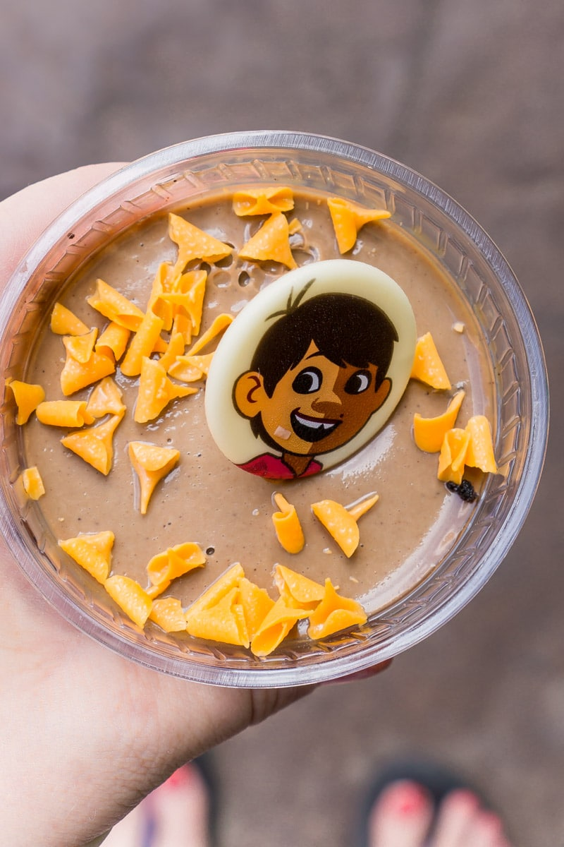 This chocolate parfait was one of the best Pixar Fest food items out there