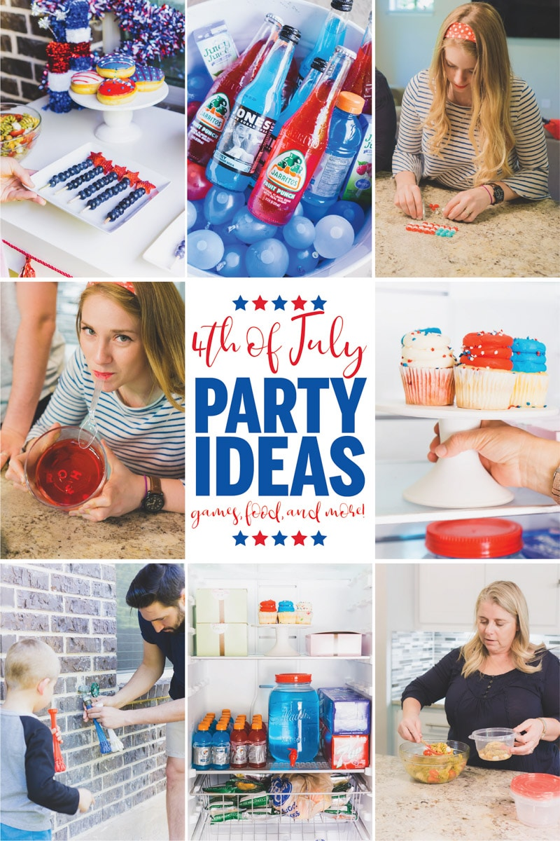 A collection of great 4th of July party ideas