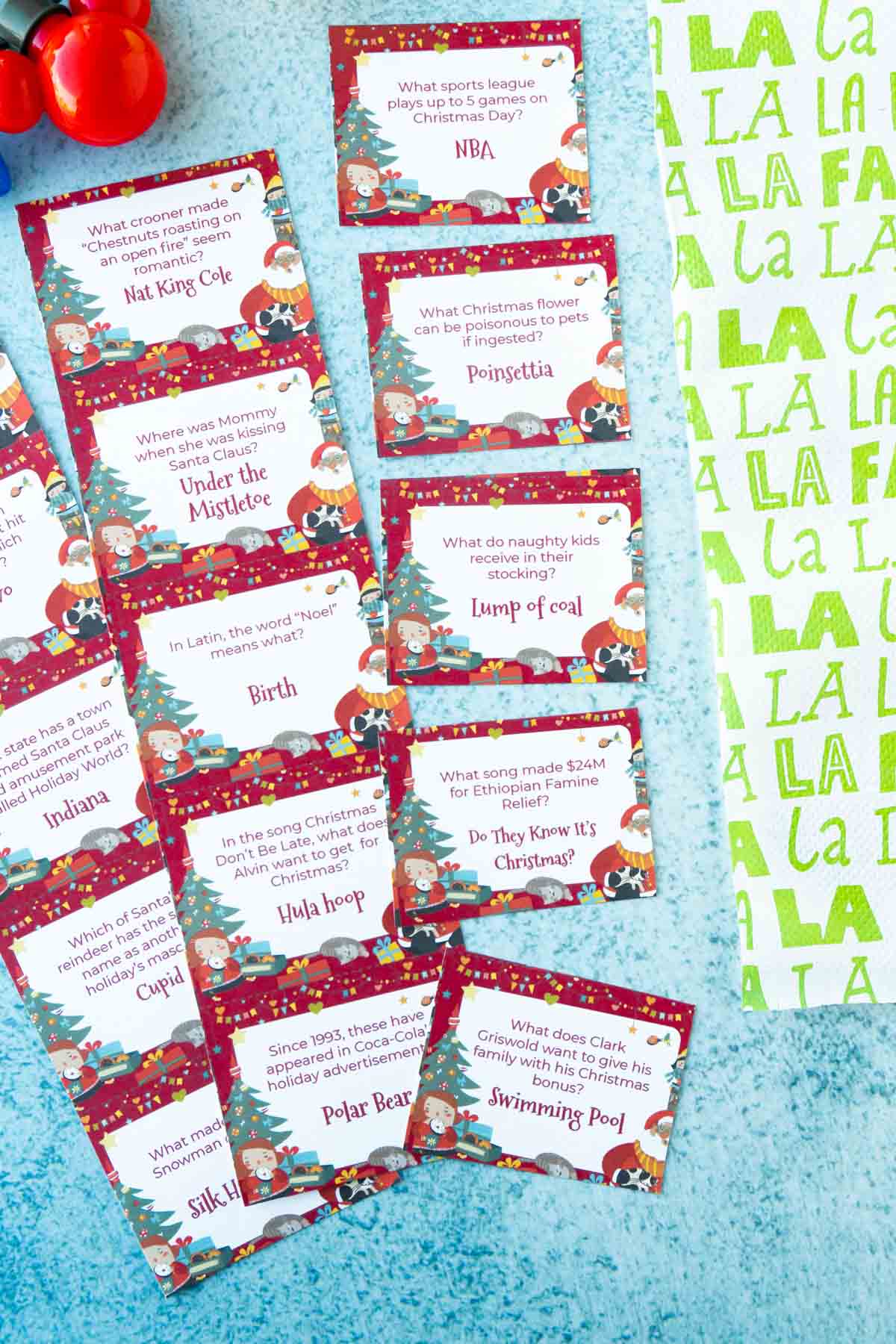 75 Christmas Trivia Questions Free Printable