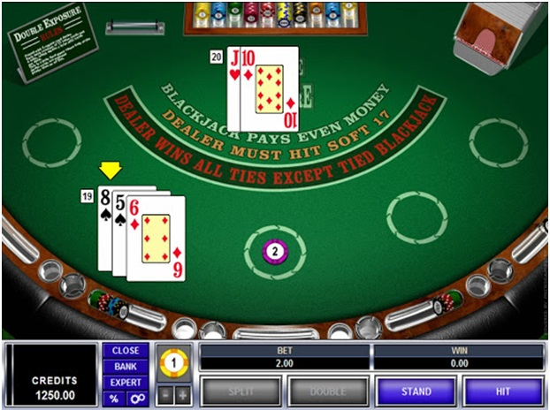 Face Up 21's objective remains the same as blackjack: beat the dealer, and get as close to 21 as possible, without exceeding that number. But the game is played with all cards face up. The major difference is as simple as that. Because your cards and the dealer's cards are exposed, cards are no longer playing blind against one of the dealer's cards, nor do you have to guess what their second card will be. You know exactly what you need to win. Naturally, this major advantage is offset considerably by several house rules which favour the dealer. For instance, the payouts are much lower than in traditional 21: the blackjack is no longer paid out with the normal 3 to 2 odds and instead holds a payout of 1 to 1, so the casino can maintain a better house edge (for them). Having both parties cards exposed also places increased pressure on our part. Say you have a hard hand of 18; you wouldn't normally hit, but because you can see the dealer has a strong 20, you have to hit in order to have any chance of winning. Surrendering, which is made available, where you can opt to give up half of your bet and save the other, may seem like the more viable option in scenarios like these; however, if it is done too much, significant losses can build up. In order to understand how Face Up 21 works, you need to brush up on the basic premise of traditional blackjack, as well as understand the key rule differences between the two types of games. Face Up 21 Fixed Rules •Your cards and the dealer's cards are always dealt face up/exposed. •Blackjack payout is fixed at 1 to 1 odds, instead of the usual 3 to 2. •Dealer wins all ties, except if we have a two-card natural blackjack. •We may only double down on a hand of nine, 10 or 11. •A winning insurance bet, when offered, pays out at 2 to 1 odds. Face Up 21 Varied Rules Face Up 21 is usually played from a eight deck shoe, but six decks are sometimes used. Some online casinos allow you to split your hand more than once. Player may split more t