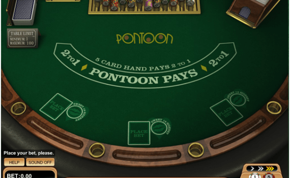 Game of Pontoon