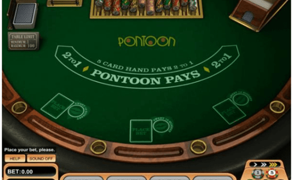 Pontoon game