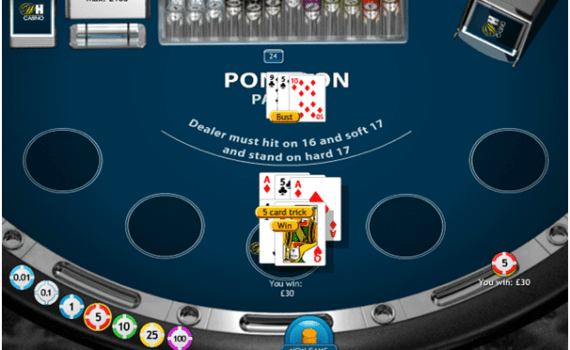rules on how to play pontoon