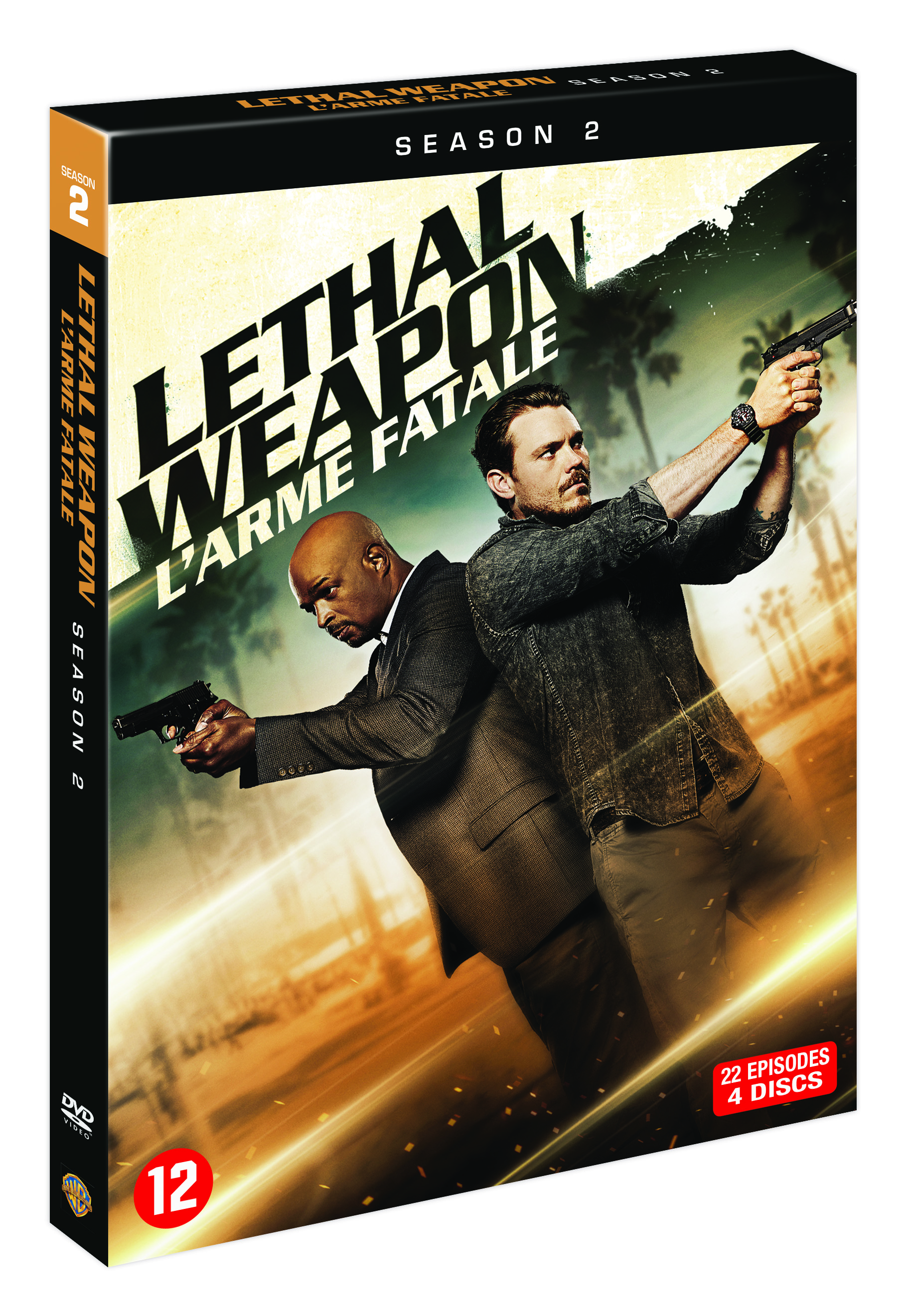 Review : Lethal Weapon Season 2 (DVD)