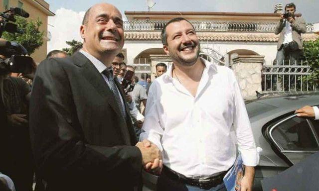 """Covid E Pasqua Salvini: """"Lockdown irrispettoso per gli italiani"""" Zingaretti: """"Irrispettoso è mettere a rischio vite"""""""