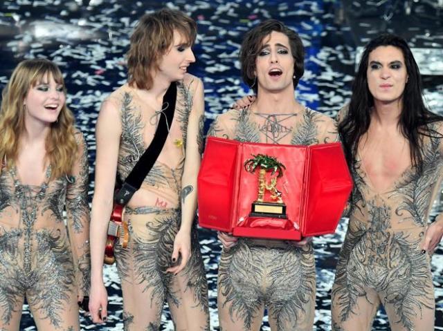 I Maneskin rappresenteranno l'Italia all'Eurovision Song Contest