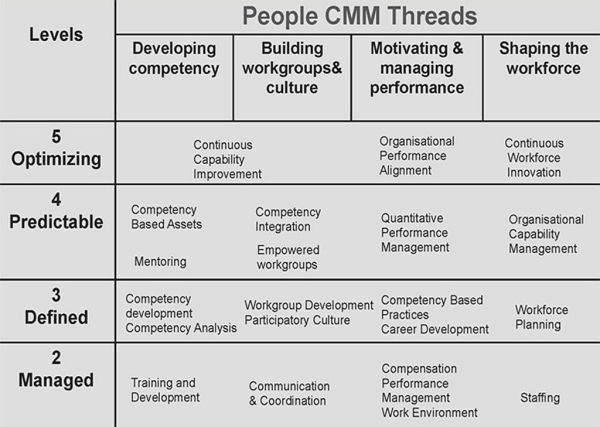 People Capability Maturity Model — P-CMM • Plays-In-Business