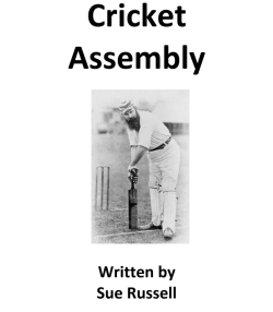 Cricket Assembly