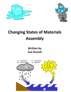 changing state of materials