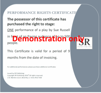 Paying Audience Certificate