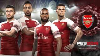 Arsenal FC continue avec Konami et son PES 2019