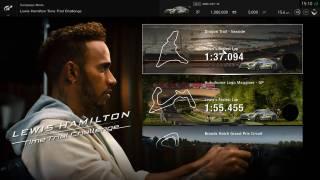 Tentez de battre Lewis Hamilton dans GT Sport