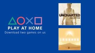 Sony vous pousse à rester à la maison avec deux jeux gratuits