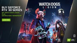 Nvidia offre Watch Dogs Legion PC pour tout achat d'une GeForce RTX série 30