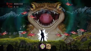 Découvrez le premier niveau de Ghosts'n Goblins Resurrection jusqu'en 4K HDR