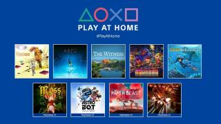 Sony va proposer 10 jeux gratuits dans son initiative Play at Home