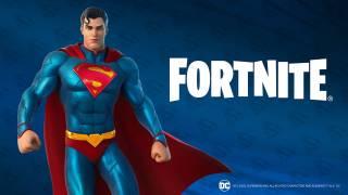 Superman arrive sur Fortnite