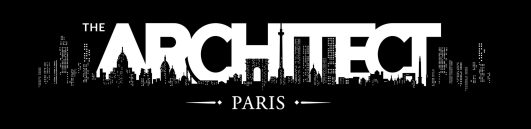 The Architect - Logo Clean - White on Black
