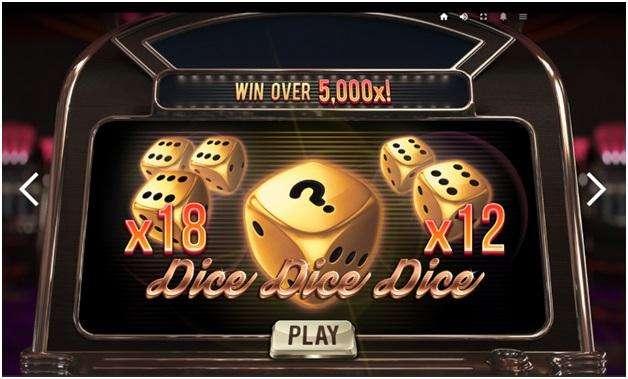 Dice Dice Dice pokies at online casino