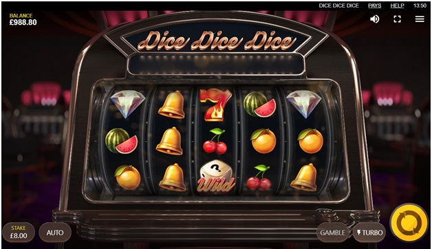 How to play Dice Dice Dice pokies at online casino