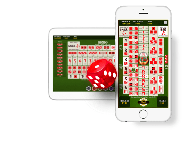 One Touch Sic Bo game to play with your Mobile