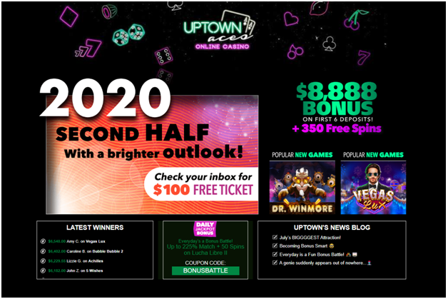 Guide to play Sic Bo at Uptown Aces Casino