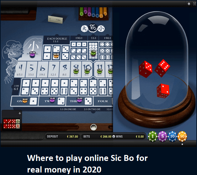 Where to play online Sic Bo for real money in 2020?