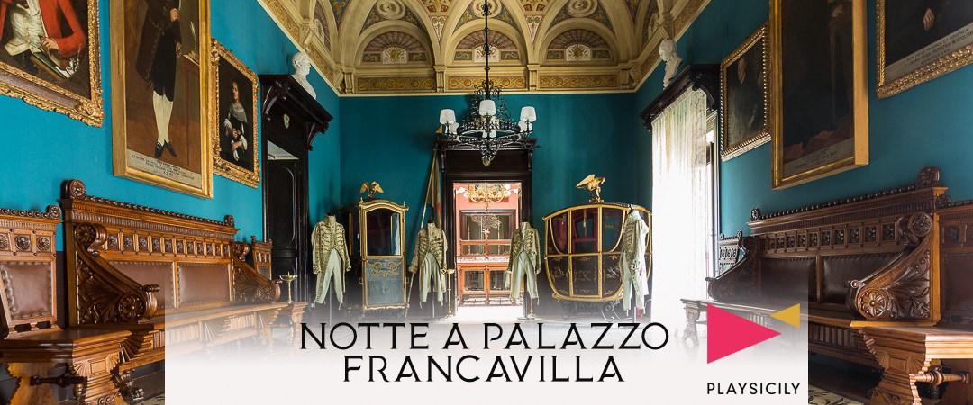 NOTTE A PALAZZO FRANCAVILLA
