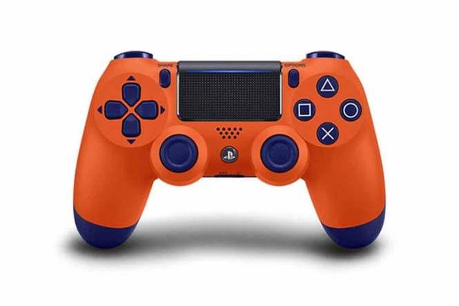 Oranžový GamePad PlayStation