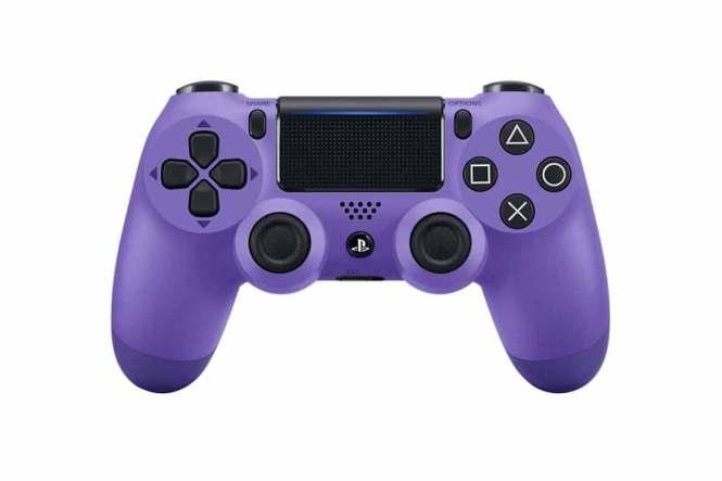 Fialový ovladač PS 4