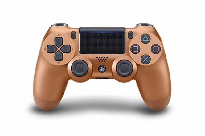 Ovladač PlayStation zlatý