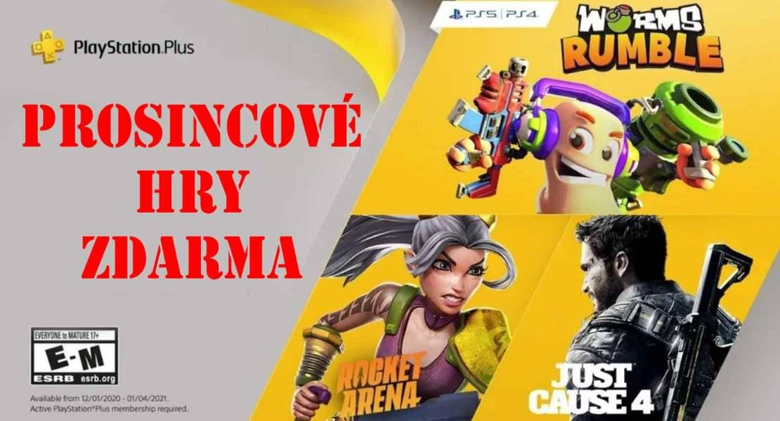Prosincové hry zdarma pro PlayStation Plus