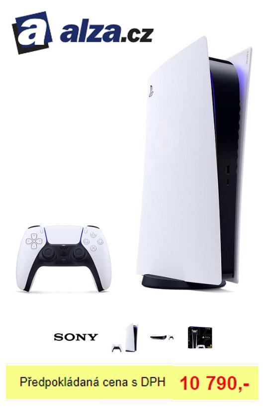 PlayStation 5 prodej digitální edice