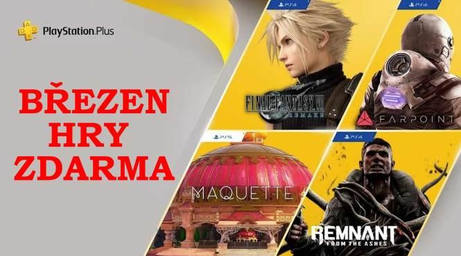 Hry zdarma Březen PlayStation Plus