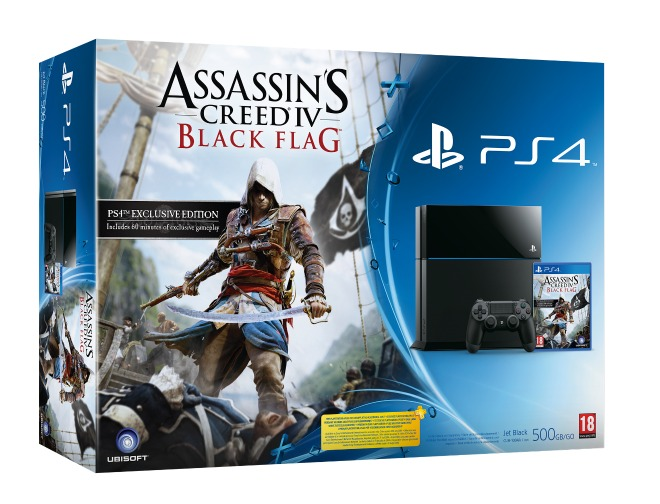 PS4 bundel met Assassin's Creed IV: Black Flag bevestigd