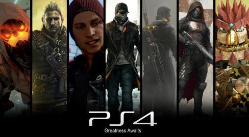 PS4 Games List Montage