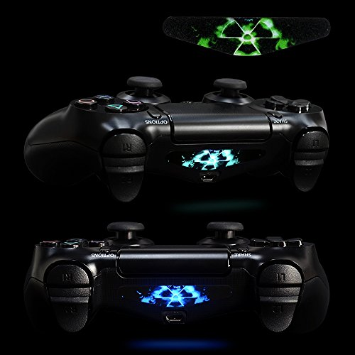 Extremerate light bar decal stickers set of 30 different pcs for 30 pcs game controller light bar decal sticker for ps4 playstation 4 aloadofball Choice Image