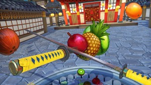 Fruit Ninja VR PlayStation VR game