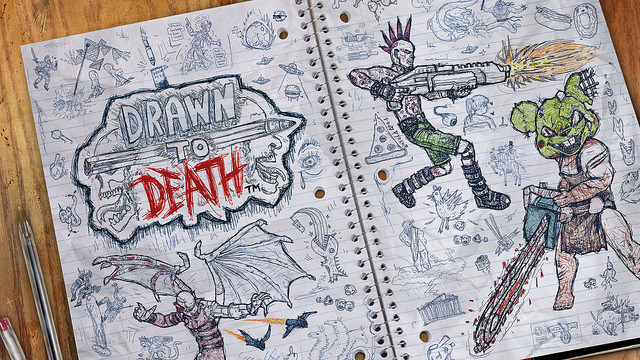Drawn to Death PS4 Exclusive game
