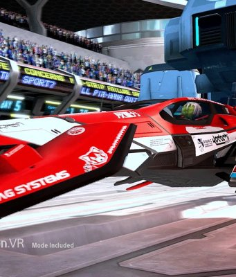 WipEout Omega Collection PS VR