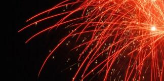 auguri capodanno fuochi d'artificio