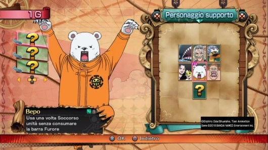 One Piece roster supporti anteprima