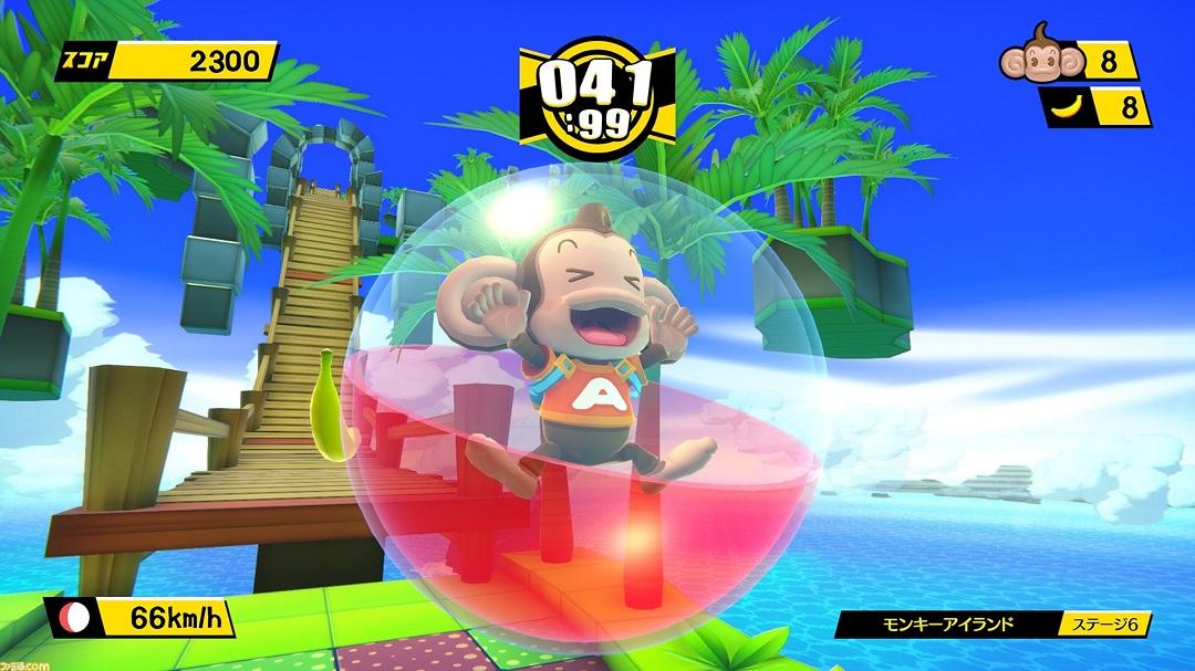 Annunciato Tabegoro! Super Monkey Ball, il remake di Banana Blitz [UPDATE]
