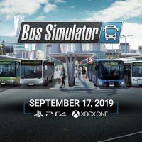 Bus Simulator per PlayStation 4 ha finalmente una data d'uscita